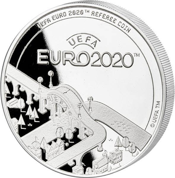 Gedenkprägung Schiedsrichtermünze