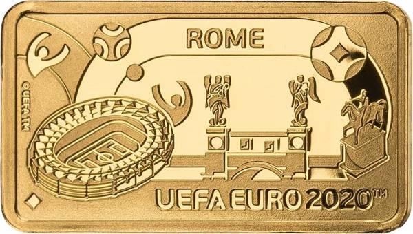 1 Pound Gibralta Fußball Europameisterschaft Rom 2020