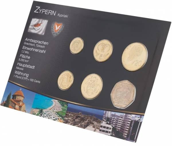 Premium-Kursmünzensatz Zypern 1991-2004