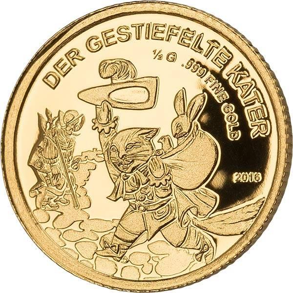 100 Francs Mali Der gestiefelte Kater 2016