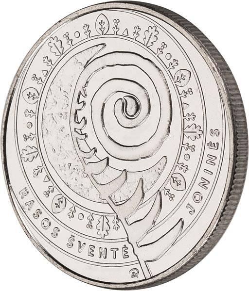 1,5 Euro Litauen Traditionelle litauische Feste Jonines Rasos 2018