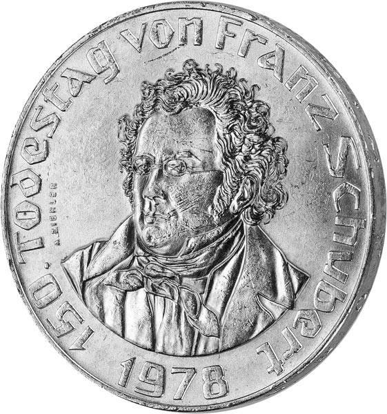50 Schilling Österreich 150. Todestag von Franz Schubert 1978