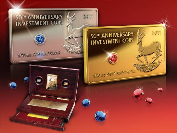 Investment Coin Set mit Juwelen 2011 Polierte Platte