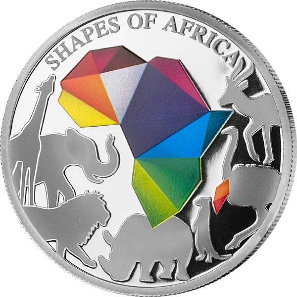250 Francs Dschibuti Kontinente 2018