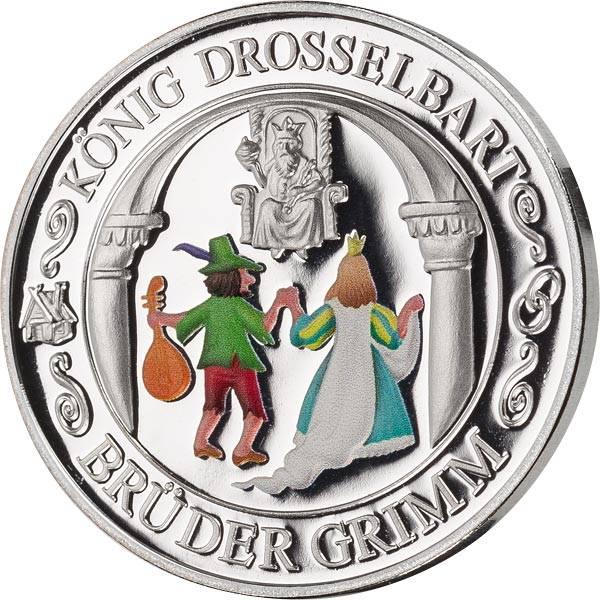 Gedenkprägung König Drosselbart