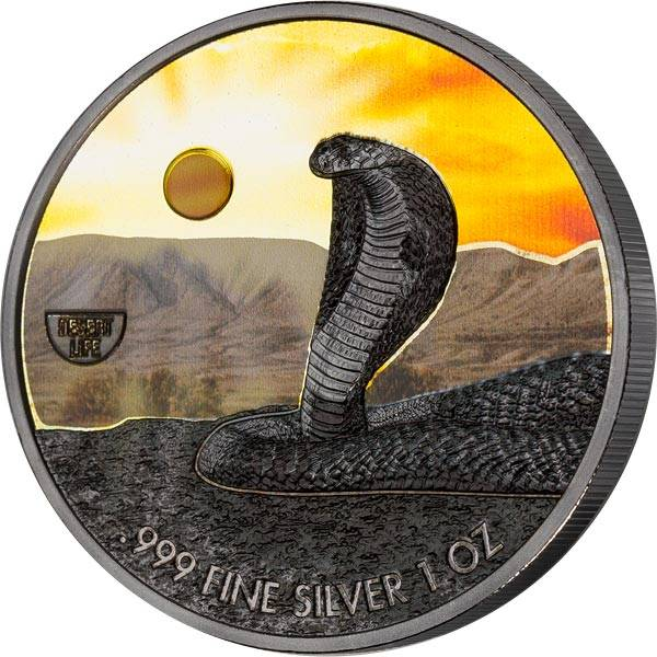 2 Dollars Niue Kobra 2020