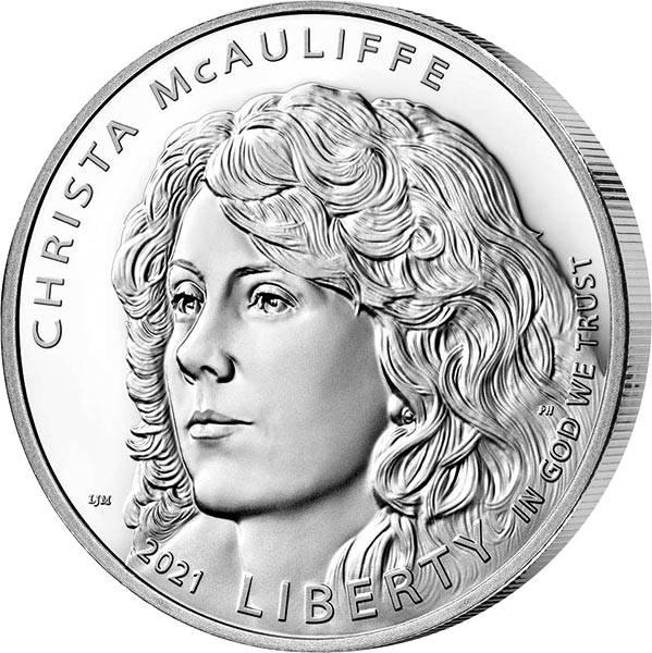 1 Dollar USA Christa Mc Auliffe 2021