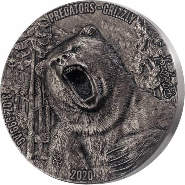 5.000 Francs Elfenbeinküste Grizzly 2020