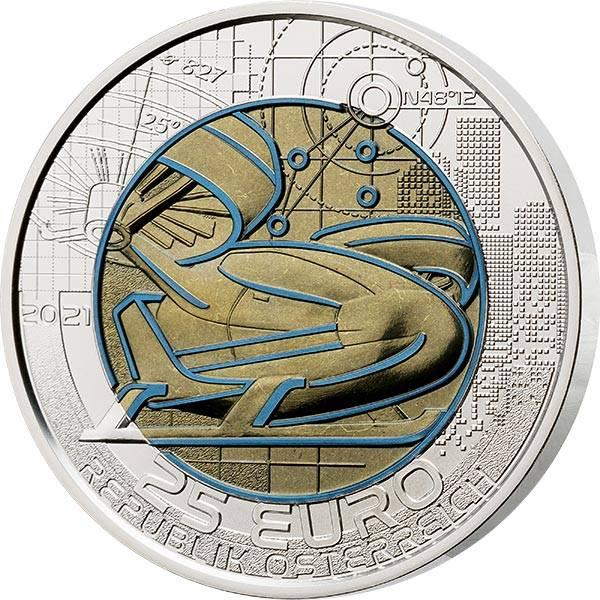25 Euro Österreich Mobilität der Zukunft 2021