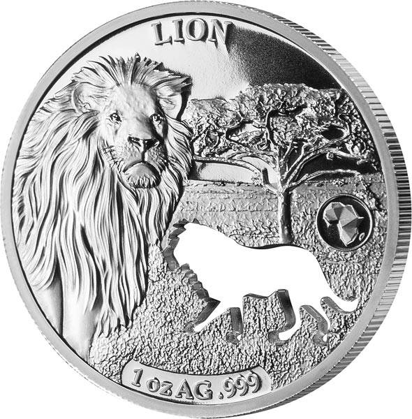 250 Francs Dschibuti Löwe 2018