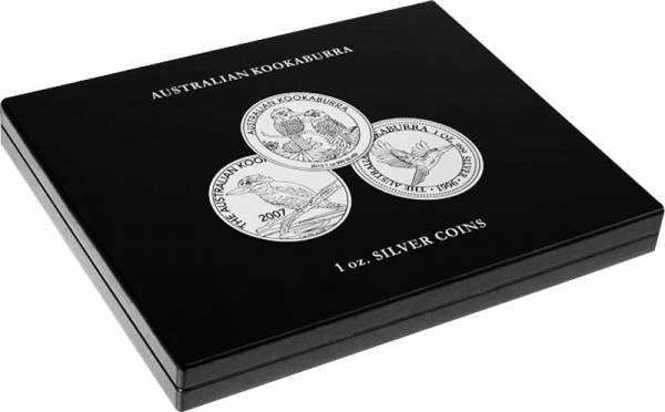 Münzkassette für 20 Silbermünzen Australian Kookaburra