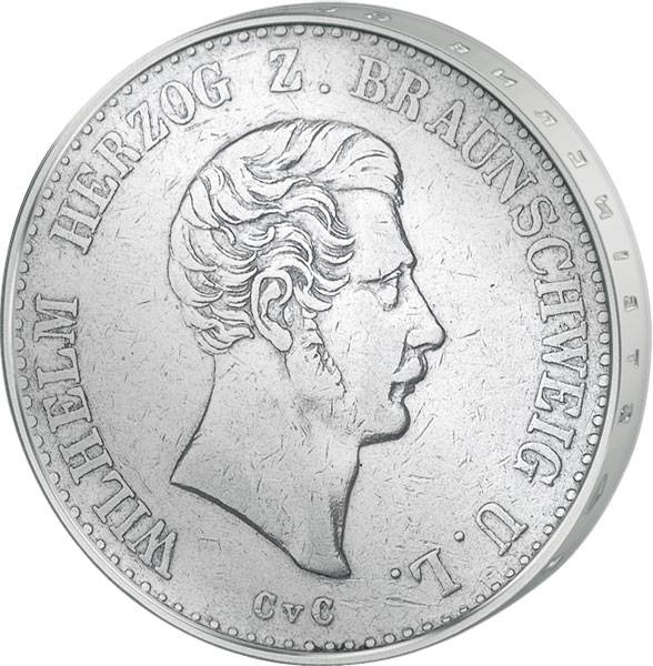 Taler Braunschweig/Lüneburg  Wilhelm  1839-1850  Sehr schön