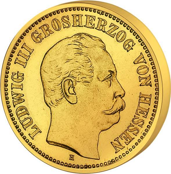 5 Mark Ludwig III. 1877