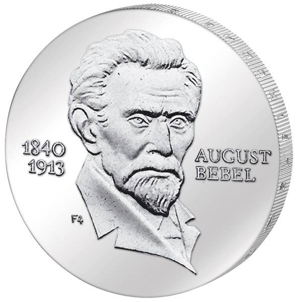 20 Mark August Bebel