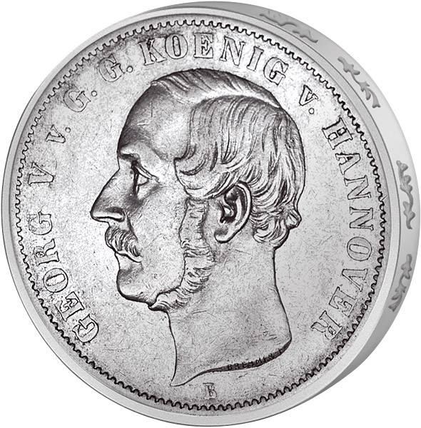 Ausbeutetaler König Georg V.