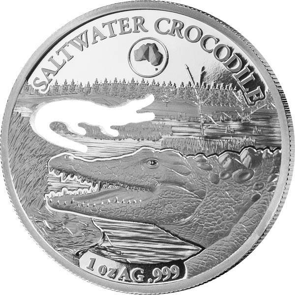 5 Dollars Salomonen Krokodil 2019