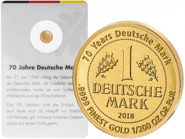 10 Francs Ruanda 70 Jahre Deutsche Mark 2018