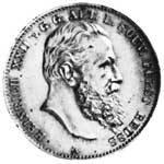 2 Mark Reuß Greiz Heinrich XXII. 1899-1901 ss-vz