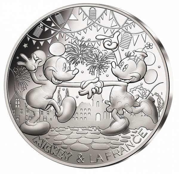 50 Euro Frankreich Mickey und Minnie 2018