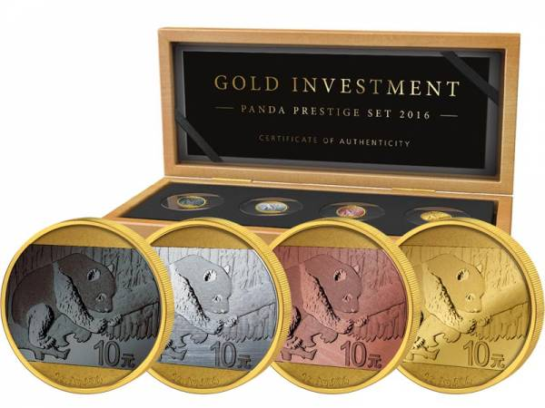 Gold Investment Prestige Set Panda 2016
