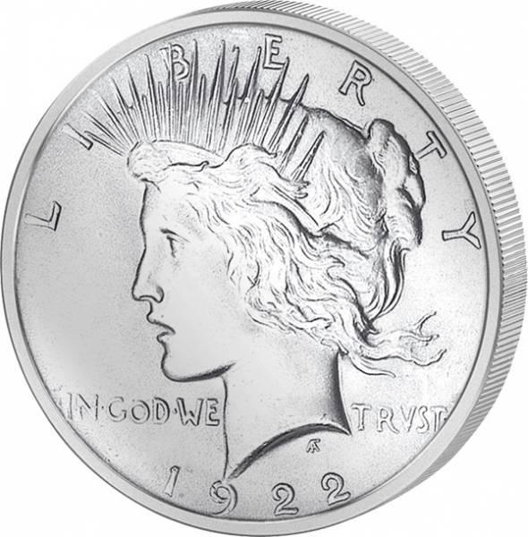 1 Dollar USA Peace 1921-1935