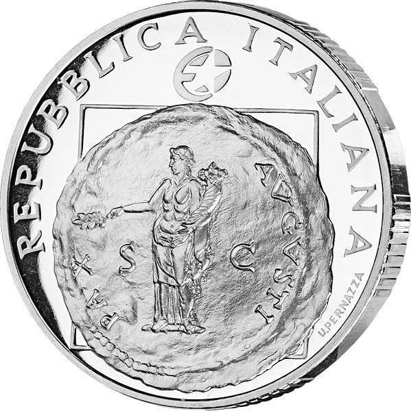 10 Euro Italien 60 Jahre Frieden und Freiheit in Europa 2005