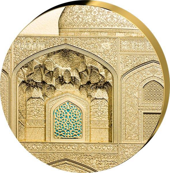 500 Dollars Palau Tiffany Art Isfahan Safavid 2020