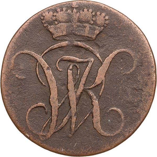 1 Heller Hessen-Kassel Kurfürst Wilhelm I. 1803/05/06/14