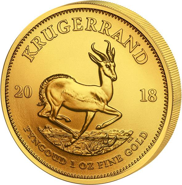 1 Unze Gold Südafrika Krügerrand 2018