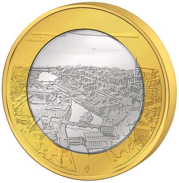 5 Euro Finnland Tammerkoski-Stromschnellen 2018