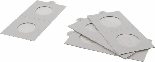 25er-Pack Münzrähmchen Innendurchmesser 25 mm
