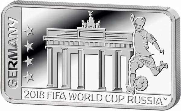 1 Dollar Salomonen FIFA Weltmeisterschaft Russland Deutschland 2018