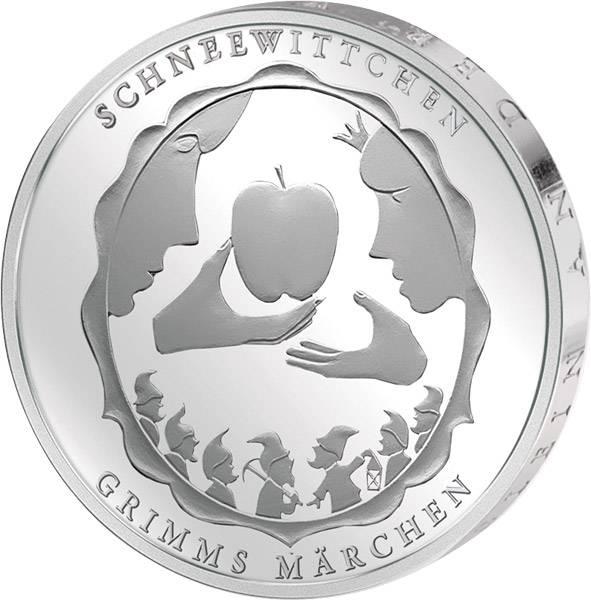 10 Euro BRD Grimms Märchen Schneewittchen 2013