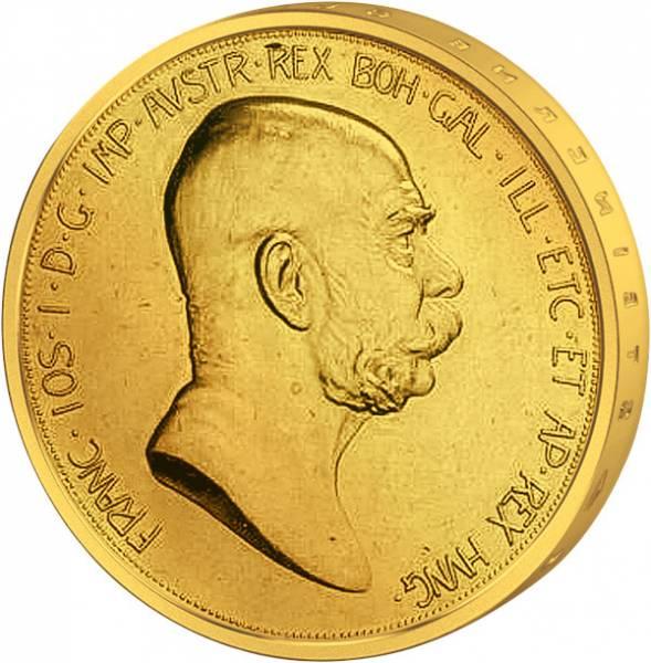 10 Kronen Gold Österreich-Ungarn Franz Joseph I. 1908-09 ss-vz