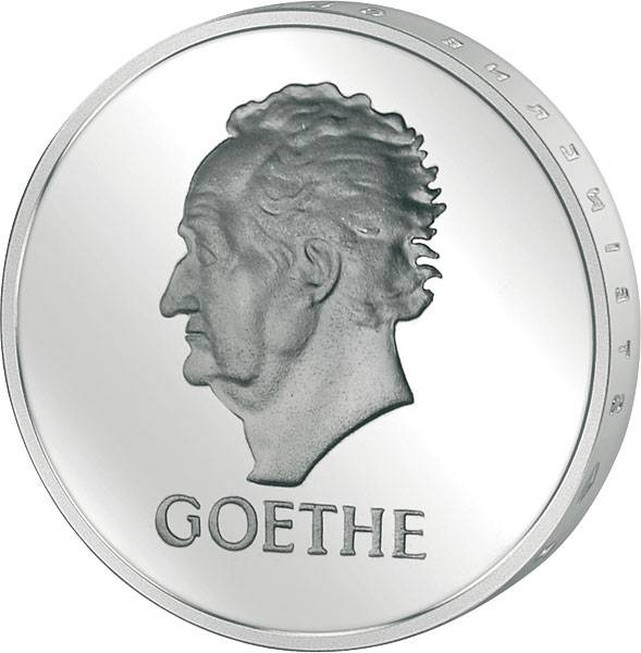 5 Mark Weimarer Republik Goethe 1932