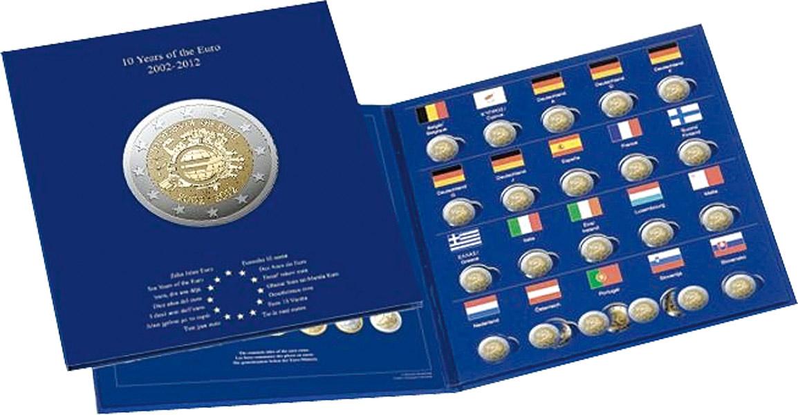 Eindrück Münzalben Für 2 Euro Gemeinschaftsausgabe 2012 Münz Alben