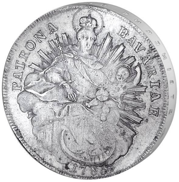Taler Bayern Kurfürst Karl Theodor 1777-1799 Sehr schön