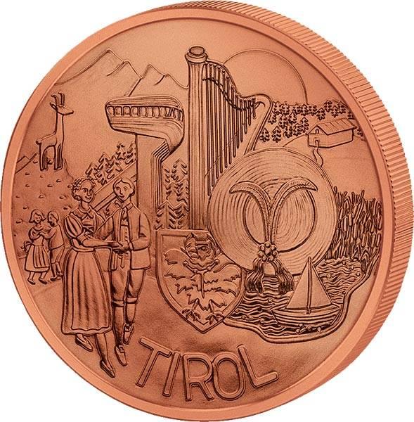 10 Euro Österreich Tirol 2014