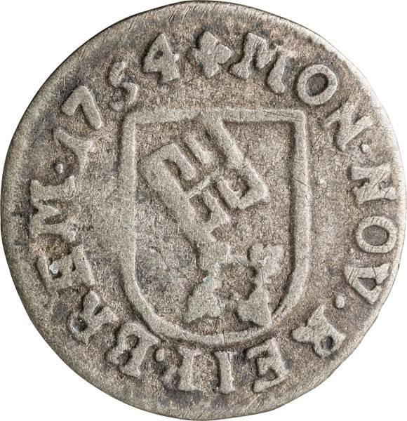 1 Groten Freie und Hansestadt Bremen 1753-1755
