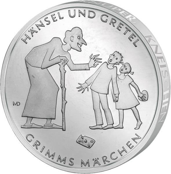 10 Euro BRD Grimms Märchen Hänsel und Gretel 2014