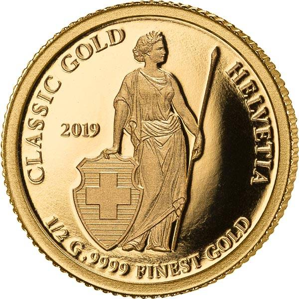 5 Dollars Cook-Inseln Helvetia 2019