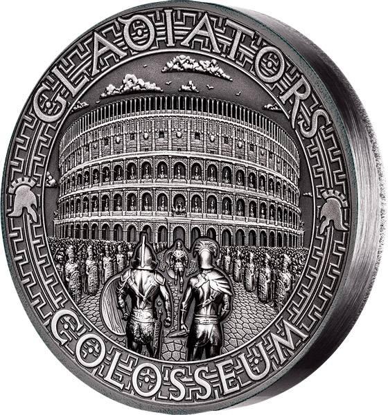5 Dollars Salomonen Gladiatoren Kolosseum 2017