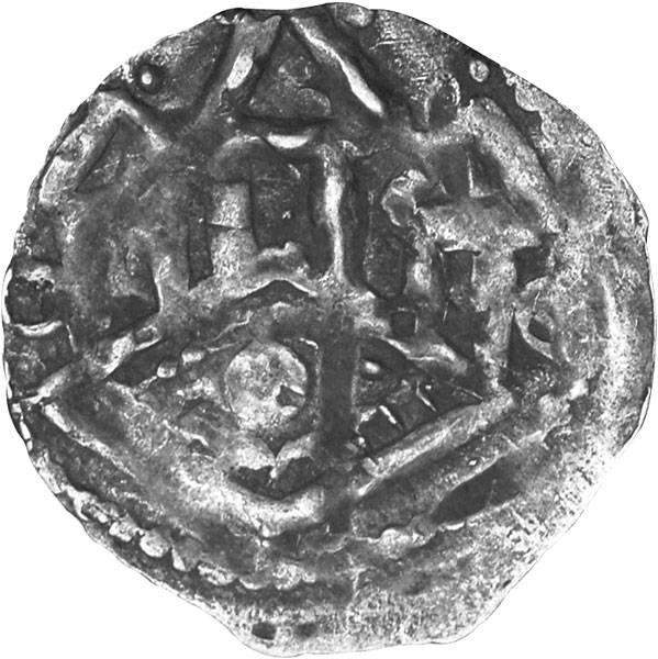 Pfennig Tübingen Pfalzgraf Hugo I. 1162-1182 Sehr schön