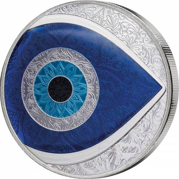 5 Dollars Palau Evil Eye 2020