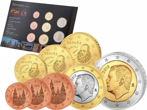 Premium-Euro-Kursmünzensatz Spanien