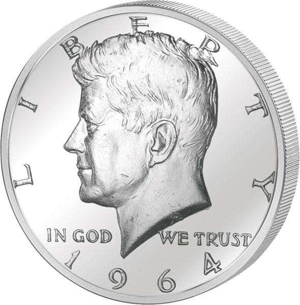1/2 Dollar USA John F. Kennedy 1964