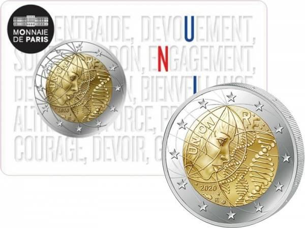 2 Euro Frankreich Medizinische Forschung - Union 2020