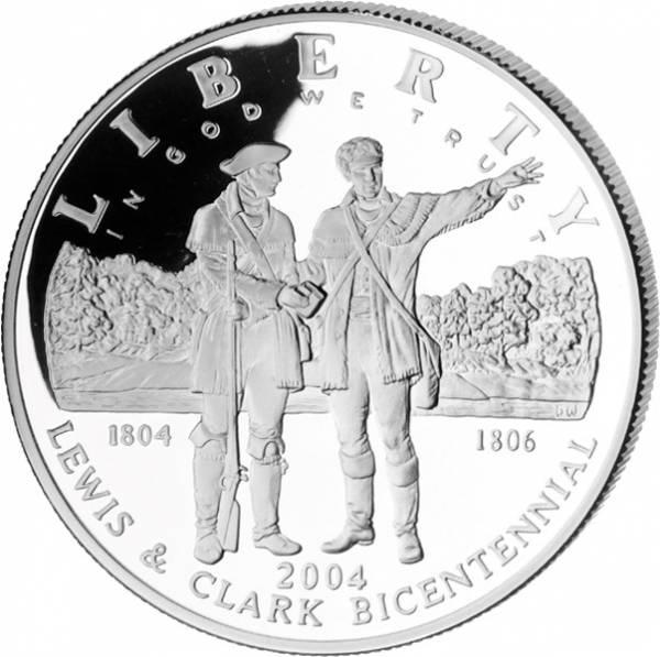 1 Dollar USA Lewis und Clark Expedition 2004