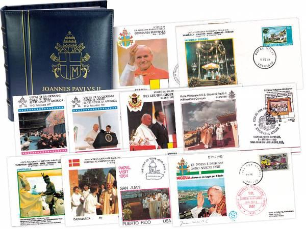 10 Reisebriefe von Papst Johannes Paul II.    1982-1990