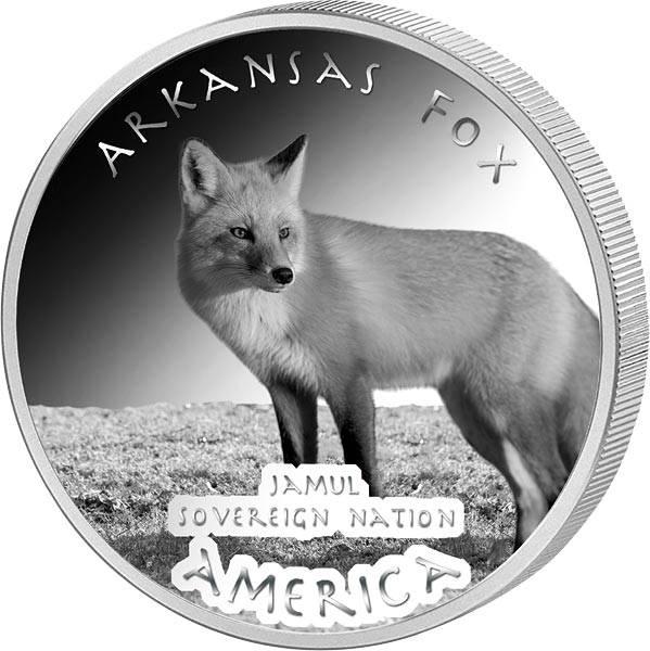 1 Dollar USA Native State Dollar Caddo Fuchs Arkansas 2019